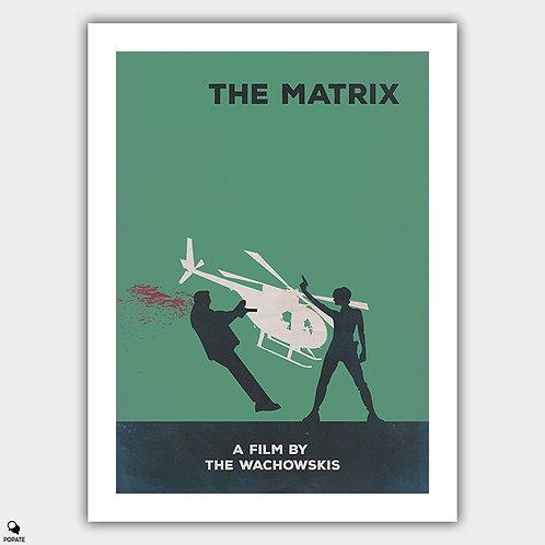 The Matrix Minimalist Poster - Dodge This