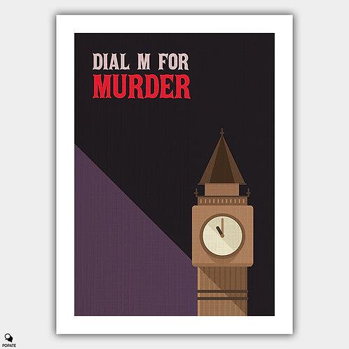 Dial M for Murder Vintage Poster