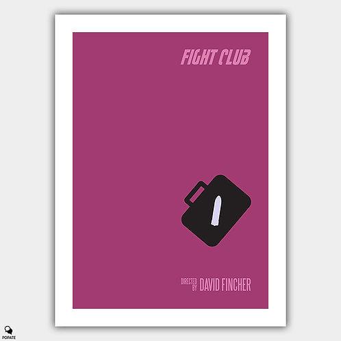 Fight Club Alternative Minimalist Poster
