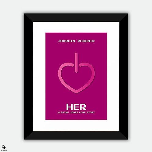 Her Alternative Framed Print