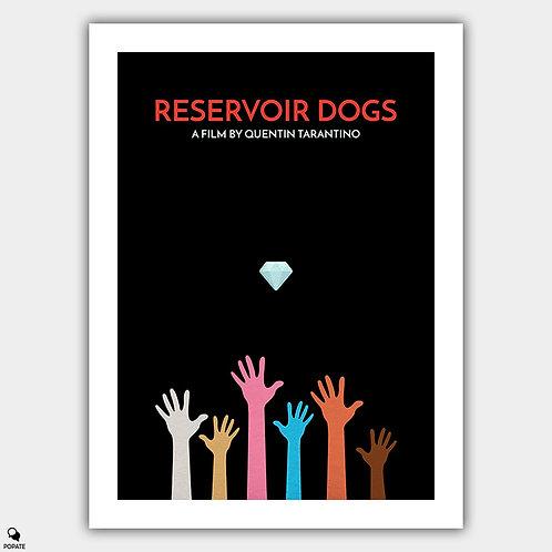 Reservoir Dogs Minimalist Poster - Hands