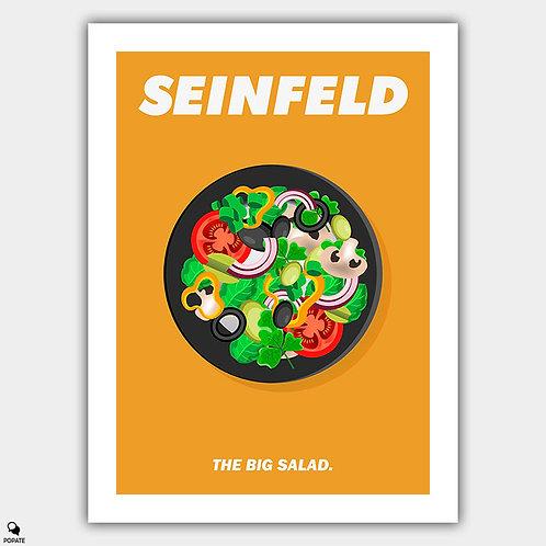 Seinfeld Minimalist Poster - Big Salad