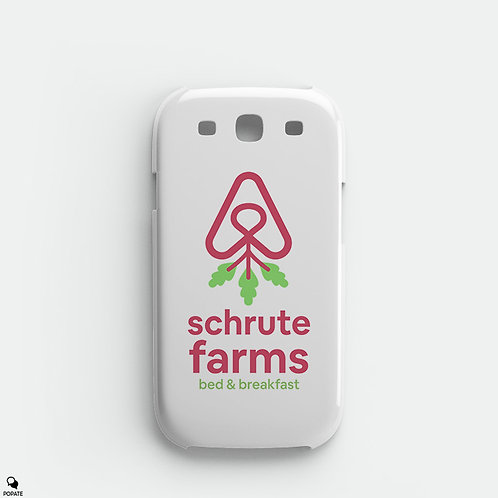 Schrute Farms Bed and Breakfast Alternative Galaxy Phone Case from The Office