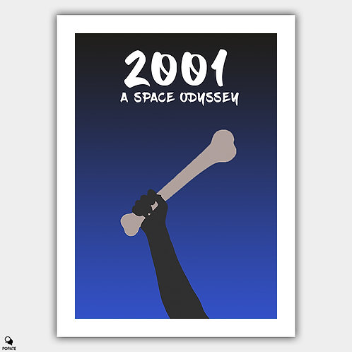 2001: A Space Odyssey Minimalist Poster
