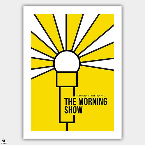 The Morning Show Minimalist Poster
