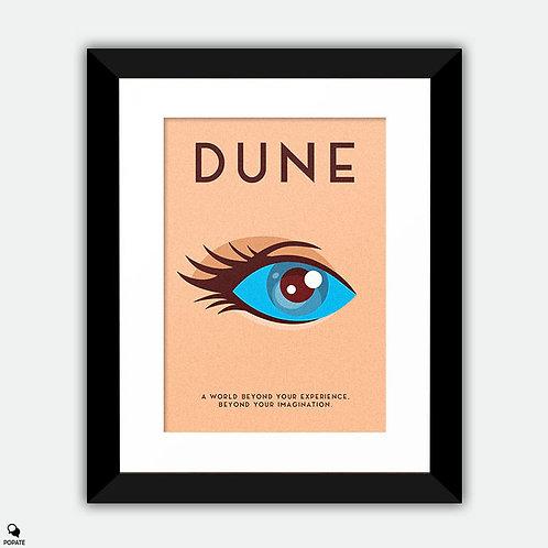 Dune Minimalist Framed Print