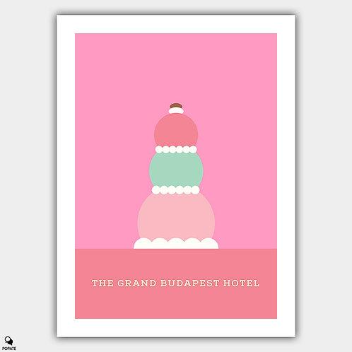 The Grand Budapest Hotel Minimalist Poster