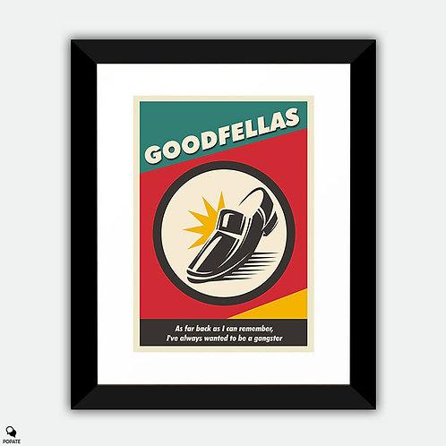 Goodfellas Vintage Framed Print - Shoe Shine