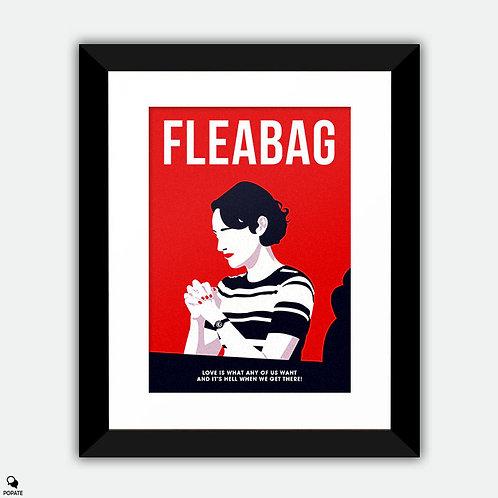 Fleabag Minimalist Framed Print - Prayer