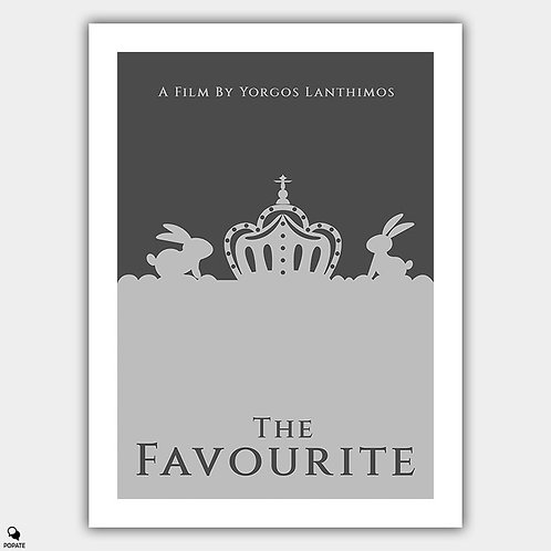 The Favourite Minimalist Poster