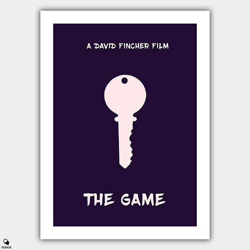 The Game Minimalist Poster