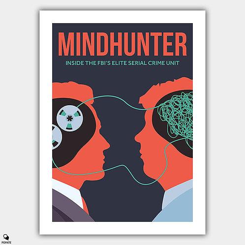 Mindhunter Minimalist Poster - Criminal Profile