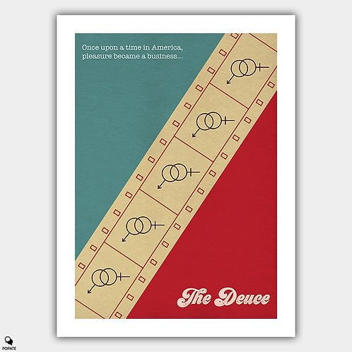 The Deuce Vintage Alternative Poster