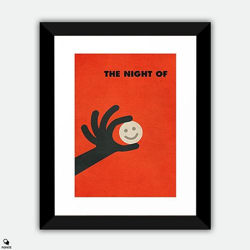 The Night Of Minimalist Framed Print