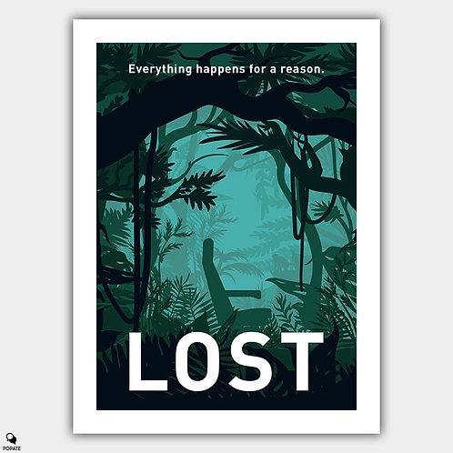 Lost Minimalist Poster - Seat