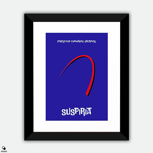 Suspiria Minimalist Framed Print - Perfection