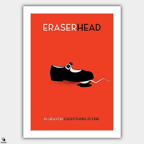 Eraserhead Vintage Poster