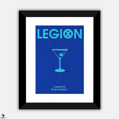 Legion Minimalist Framed Print - Oliver Bird