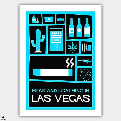Fear and Loathing in Las Vegas Vintage Saul Bass Poster