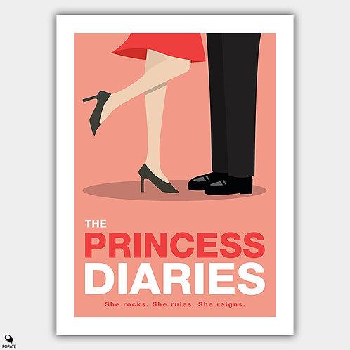 The Princess Diaries Minimalist Poster