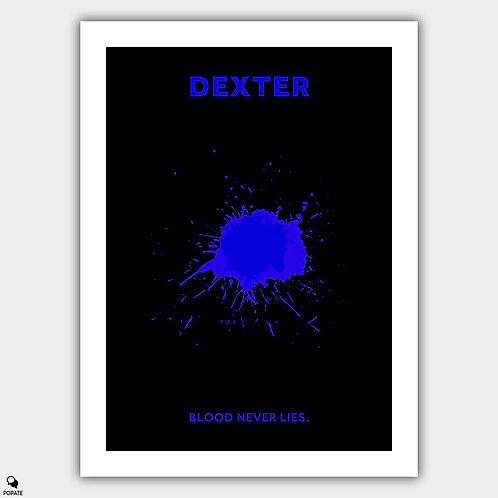 Dexter Minimalist Poster - Luminol