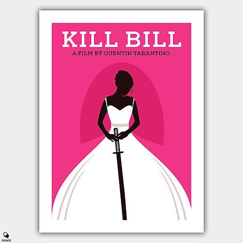 Kill Bill Vol. 1 Minimalist Poster - The Bride