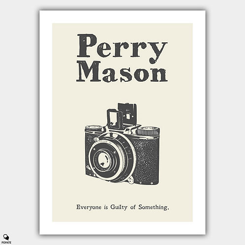 Perry Mason Vintage Poster