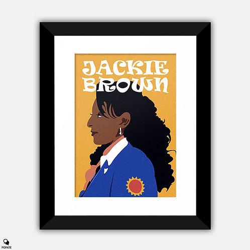 Jackie Brown Alternative Framed Print - Jackie