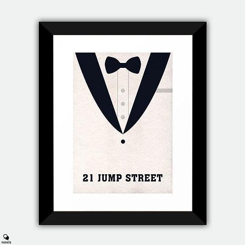 21 Jump Street Minimalist Framed Print