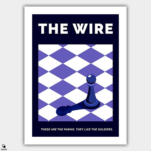 The Wire Alternative Poster - The Pawn