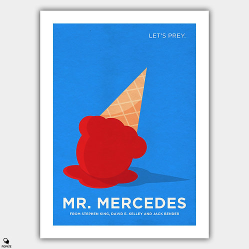 Mr. Mercedes Alternative Minimalist Poster
