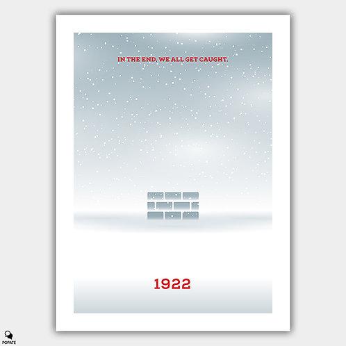 1922 Minimalist Poster