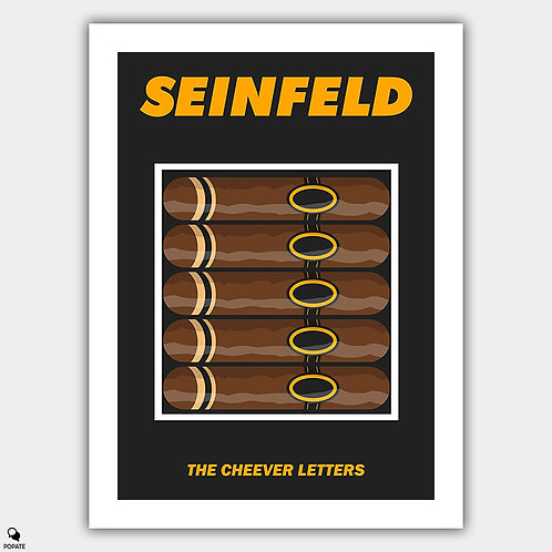 Seinfeld Alternative Poster - The Cheever Letters