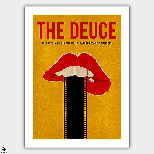 The Deuce Minimalist Poster - Film