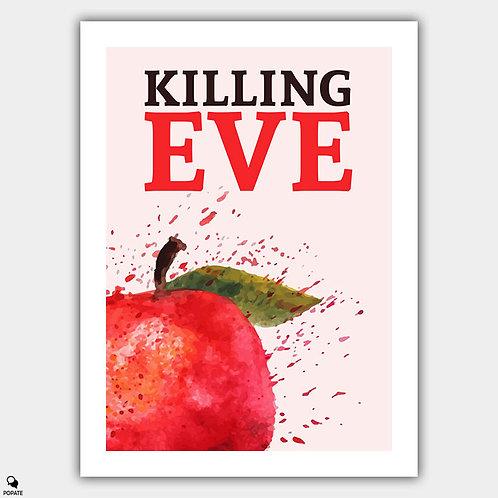 Killing Eve Minimalist Poster - Apple