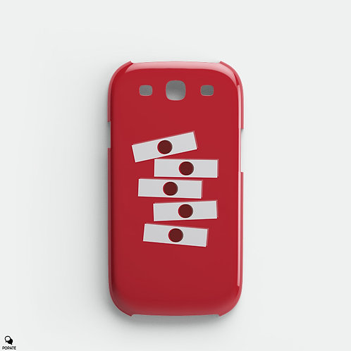 Dexter Minimalist Galaxy Phone Case