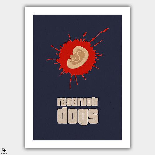 Reservoir Dogs Minimalist Poster - Ear