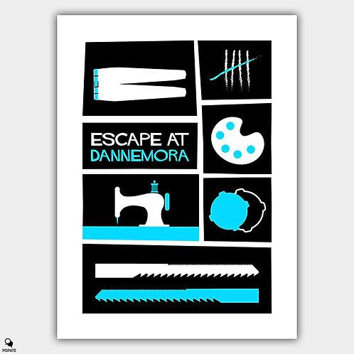 Escape At Dannemora Saul Bass Style Alternative Poster
