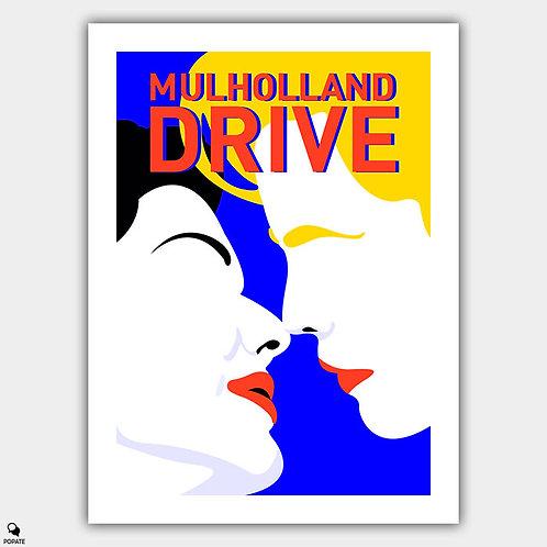 Mulholland Drive Minimalist Poster - Illusion