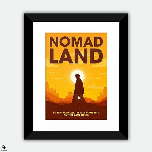 Nomadland Minimalist Framed Print