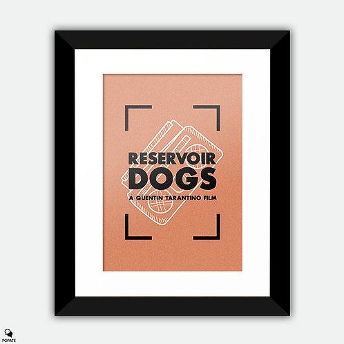 Reservoir Dogs Vintage Framed Print - Mr Brown