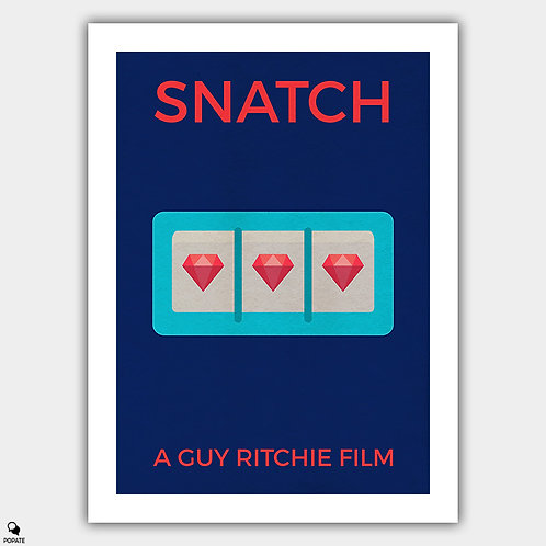 Snatch Alternative Poster