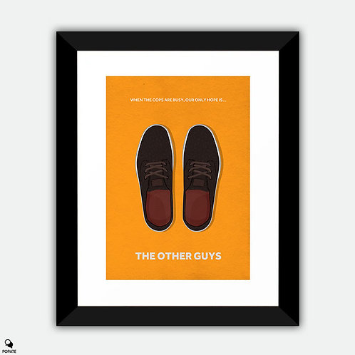 The Other Guys Minimalist Framed Print