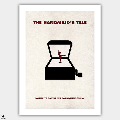 The Handmaid's Tale Minimalist Poster - The Girl In The Box