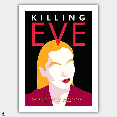 Killing Eve Alternative Poster - Villanelle