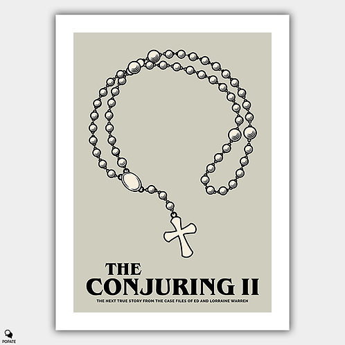 The Conjuring 2 Vintage Poster