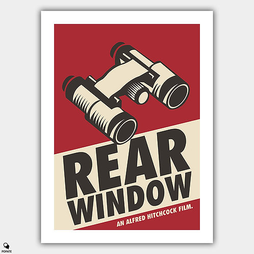 Rear Window Vintage Style Poster