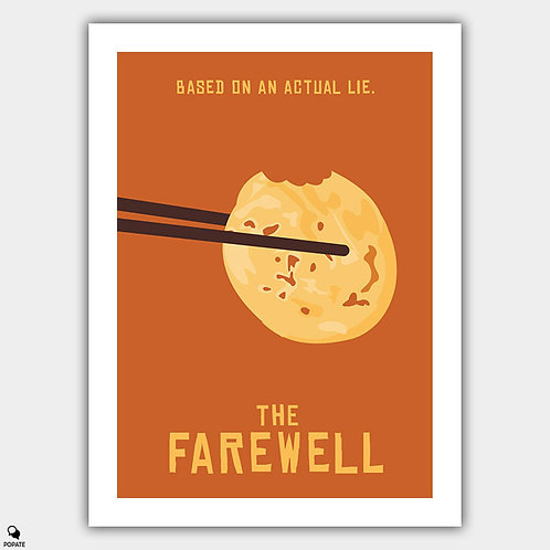 The Farewell Minimalist Poster