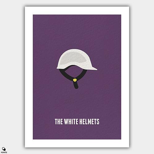 The White Helmets Minimalist Poster