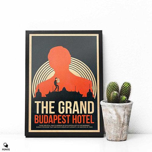 The Grand Budapest Hotel Vintage Framed Print